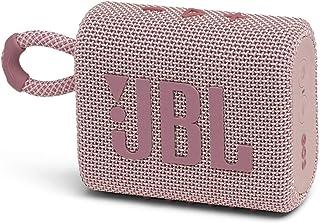 JBL GO3 Bluetoothスピーカー USB C充電/IP67防塵防水/パッシブラジエーター搭載/ポータブル/2020年モデル ピンク JBLGO3PINK 【国内正規品/メーカー1年保証付き】