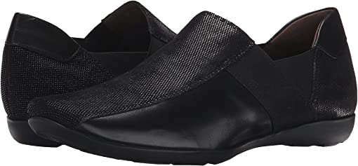 Black Lab/Soft Black New Calf/Black Elastic