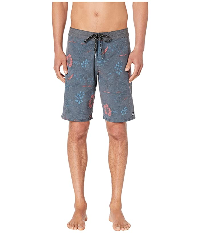 Salty Crew Compass Boardshorts (Charcoal) Men