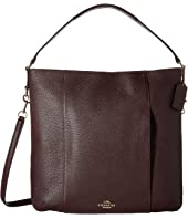 COACH - Leather Isabelle Shoulder Bag