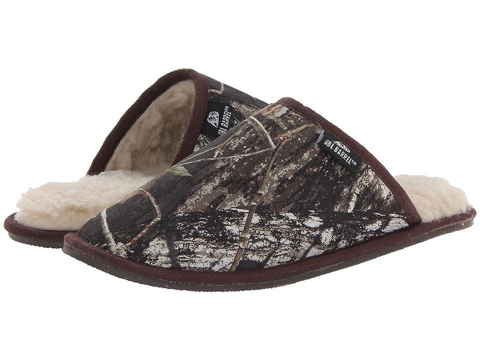 M&F Western Fleece Slide Slipper (Mossy Oak Camo) Men