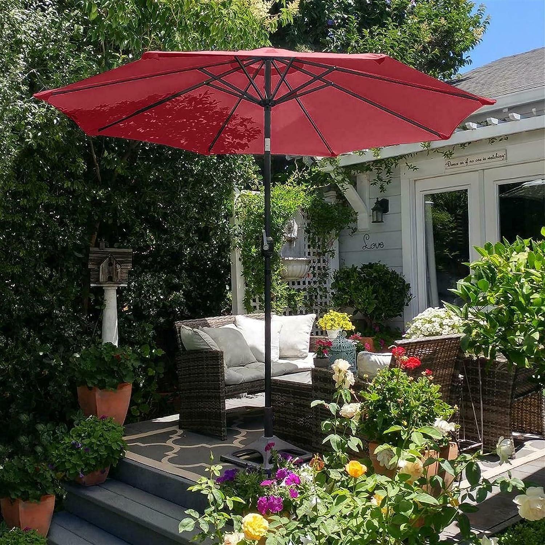 GXK Outdoor Cash 40% OFF Cheap Sale special price Umbrellas 9ft Sunshade Umbrella Patio Garden