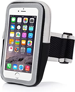 Badalink iPhone 6 Armband iPhone 6S Sports Armband Running Armband Cell Phone Holder for Running Arm Band Case Strap Workout for iPhone 6 6S iPod Touch (Black)