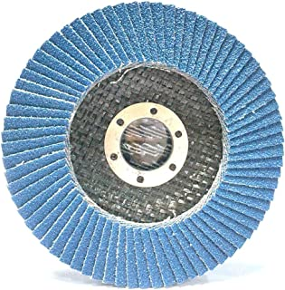 GRASSNOTES-4-1/27/8-10pack-Constructed of Industrial Grade high Density Premium Zirconia toprovide More Grinding Material Than Standard Flap Discs (40Grit)