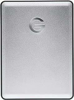 G-Technology 4TB G-Drive Mobile USB 3.0 Portable External Hard Drive, Silver - 0G06074