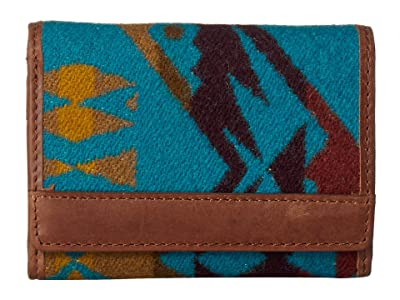 Pendleton Trifold Wallet (Diamond Peak/Turquoise) Bill-fold Wallet