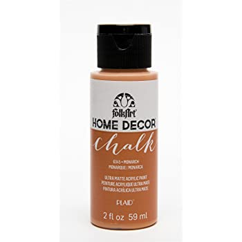 FolkArt Home Décor Chalk Furniture & Craft Paint in Assorted Colors, 2 oz, Monarch