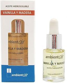 comprar comparacion Ambientair. Aceite perfumado hidrosoluble 15ml. Aceite hidrosoluble Vainilla y Madera para humidificador de ultrasonidos. ...