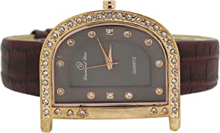 Diamond Dior Dress Watch For Men Analog Leather - D0946027