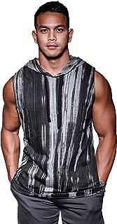 Sleeveless Gym Hoodie - Men's Bodybuilding Muscle Training Workout Hoodies