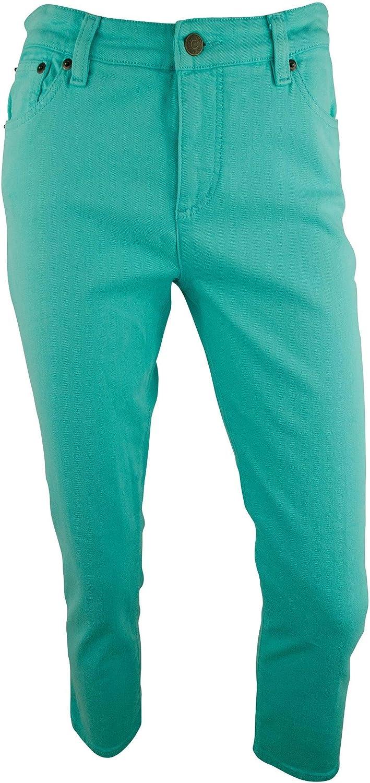 Ralph Lauren Women's Petite LRL Jeans Straight Cropped Classic Jeans