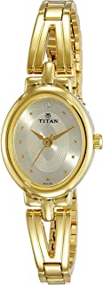 Titan Karishma Revive Analog Champagne Dial Women's Watch-NM2594YM01 / NL2594YM01