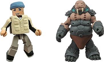DIAMOND SELECT TOYS Battle Beasts Minimates Series 1: Gruntos and Tate, 2-Pack