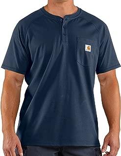 Men's Force Delmont Short Sleeve Henley T-Shirt (Regular...