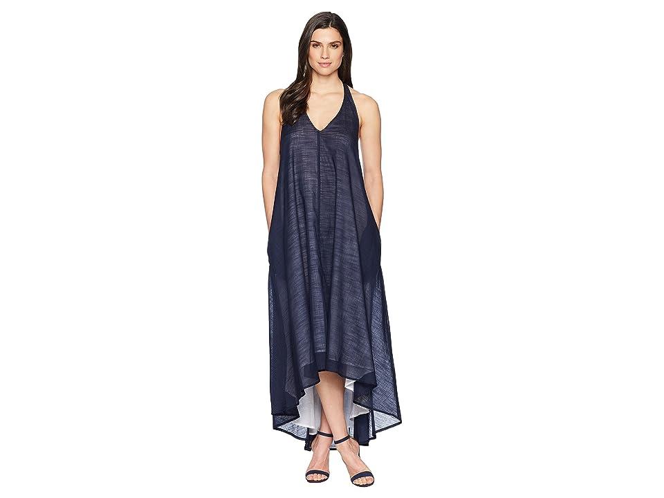 Kenneth Cole New York Racerback Twist Strap Dress (Indigo) Women