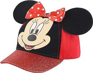 قبعة أطفال ميني ماوس من ديزني، قبعة بيسبول للأطفال الصغار والفتيات الصغار من سن 2-8 سنوات