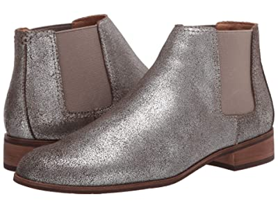 FRYE AND CO. Mila Chelsea (Pewter Metallic Suede) Women