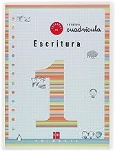 Cuaderno 1 de escritura, Cuadrícula. 1 Primaria - 9788434897076