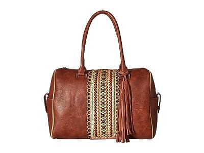 M&F Western Laney Doctor Bag (Brown) Bags