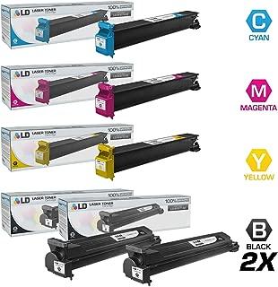 LD Compatible Toner Cartridge Replacement for Konica Minolta Bizhub C203 & C253 (2 Black, 1 Cyan, 1 Magenta, 1 Yellow, 5-Pack)