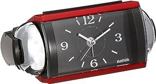 セイコー クロック 目覚まし時計 アナログ 大音量 ベル音 PYXIS ピクシス RAIDEN ライデン 赤 メタリック NR442R SEIKO