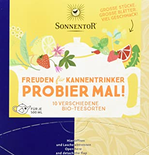 Sonnentor Freuden für Kannentrinker, Bio Tee Probier mal! ,Kannenbeutel 1 x 29,2 g