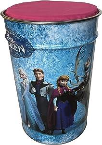 BVT Sitzhocker Sitztruhe mit Stauraum und Deckel für Kinder - Die Eiskönigin, Frozen