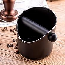 Espresso Coffee Knock Box Shock-Absorbent Durable Barista Style Coffee Knock Box Container Anti Slip Coffee Grind Dump Bin...
