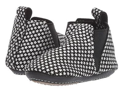 Freshly Picked Starry Eyed Chelsea Boot Mini Sole (Infant/Toddler) (Silver/Ebony) Kid