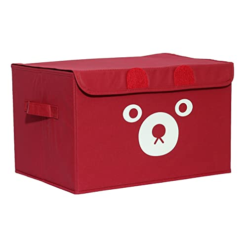 Merveilleux Katabird Storage Bin For Toy Storage, Collapsible Chest Box Toys Organizer  With Lid For Kids