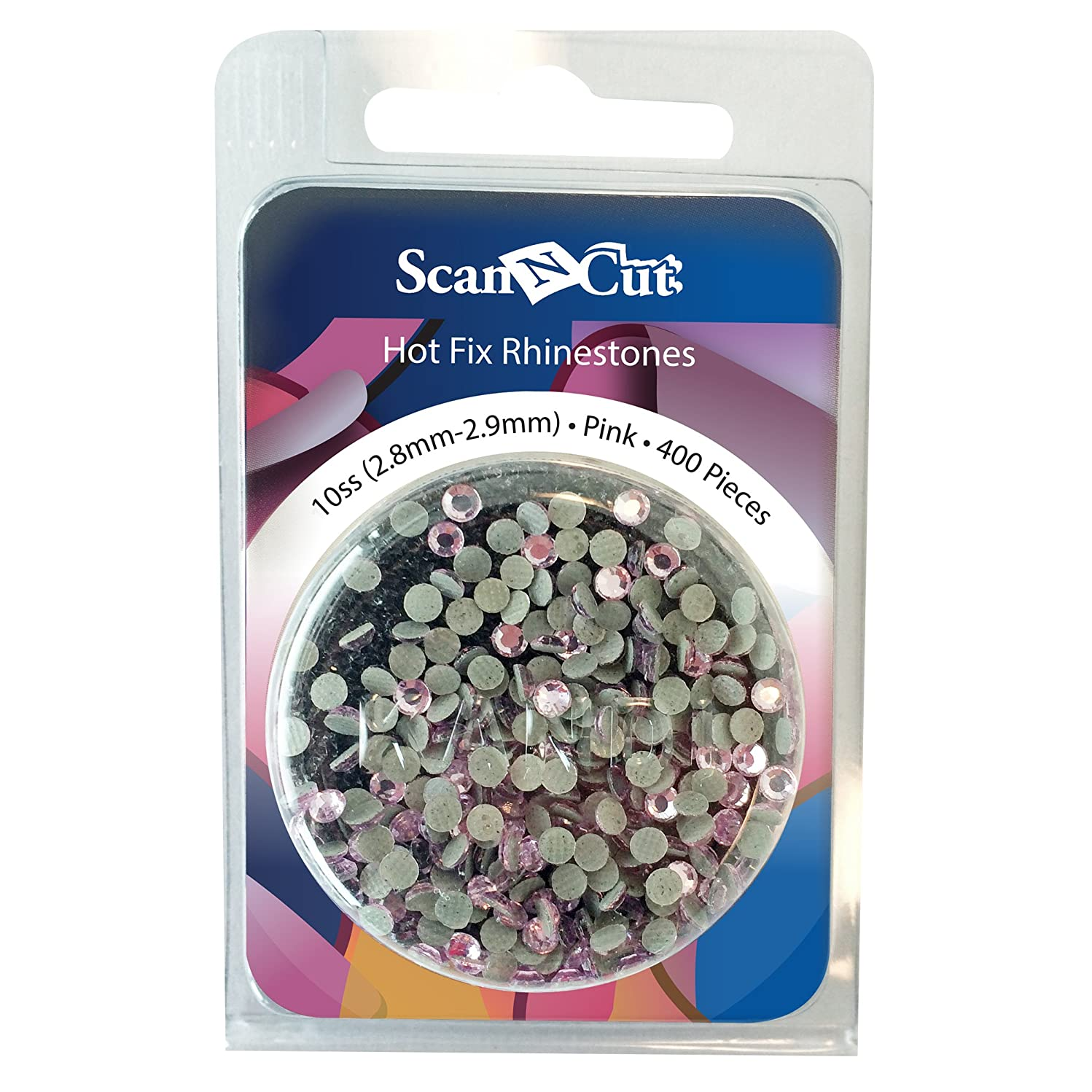 Brother ScanNCut CARS10P Rhinestone Refill Pack 10SS (2.8 mm - 2.9 mm) - Pink