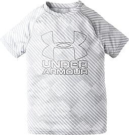 Under Armour Kids - Big Logo Hybrid Printed Tee (Big Kids)