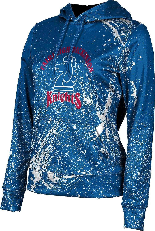 ProSphere Fairleigh Dickinson University Girls' Pullover Hoodie, School Spirit Sweatshirt (Splatter)