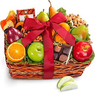 Golden State Fruit Orchard Delight Fruit and Gourmet Basket Gift