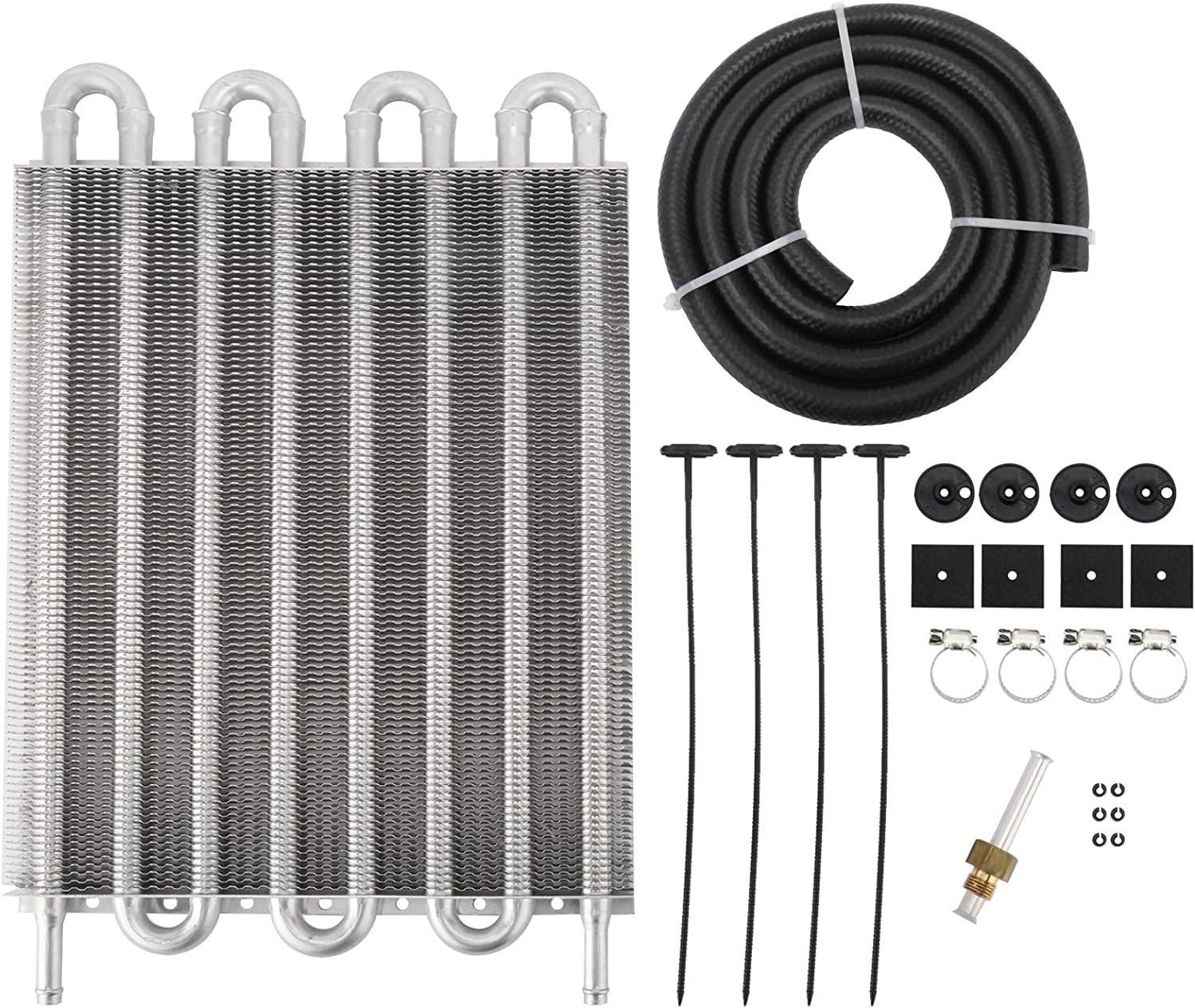 8 Under blast sales 70% OFF Outlet Row Automotive Cool Tube and Fin Universa Transmission Cooler