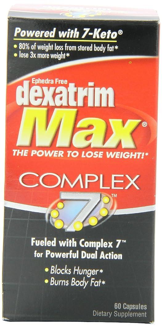 Dexatrim Max Complex-7, Capsules, 60-Count Bottle