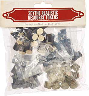 Stonemaier Games Scythe Realistic Resource Tokens 80 Board Game