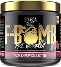 Pre Workout Build Muscle Burn Fat Increase Strength Performance Enhance Focus Reduce Fatigue 250mg Caffeine 6 000mg L-Citrulline 3 500mg Beta-Alanine Fizzy Cherry Cola Bottle Estimated Price : £ 26,98