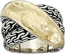 18K Gold/Silver