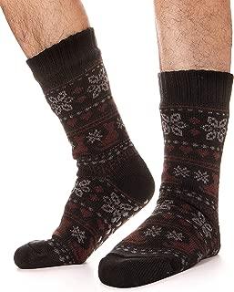 mens sherpa socks