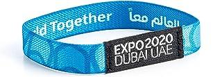 Expo 2020 Dubai Mobility Wristband Blue