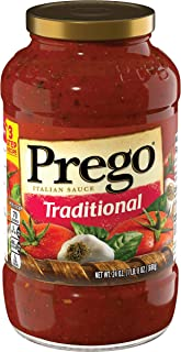 Prego Heart Smart Traditional Italian Spaghetti Sauce, 24 Ounce - 3 per pack -- 4 packs per case.