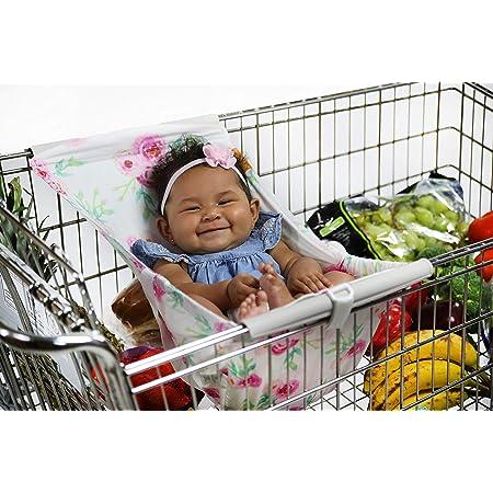 The Original BINXY BABY Shopping Cart Hammock Ergonomic Infant Carrier Positioner