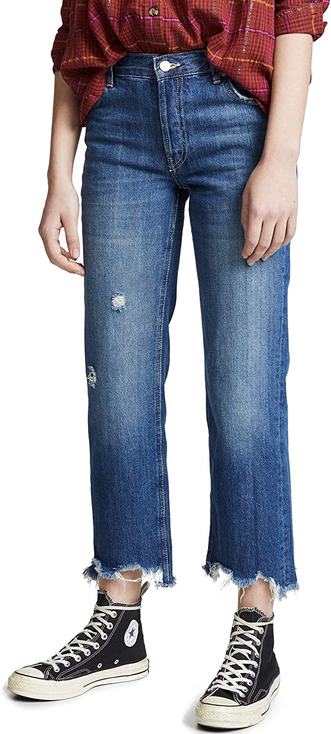 Free People Women's Maggie Leg Indianapolis Mall Jeans Straight Classic