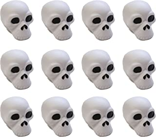 Curious Minds Busy Bags Bulk 12 Skull Stress Ball Toys - Doctor, Nurse, Med Students, Radiologist Halloween
