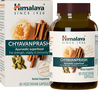 Sponsored Ad - Himalaya Chyavanprash, for Immune Support and Rejuvenation, Energy Boosting, Stress Relief, 500 mg, 60 Caps...