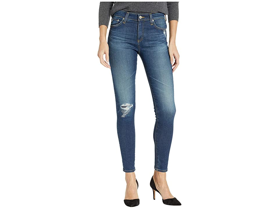 Image of AG Adriano Goldschmied Farrah Skinny Ankle in 11 Years Shifted Mended (11 Years Shifted Mended) Women's Jeans