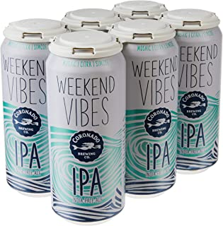 Coronado Weekend Vibes IPA, 473 ml (Pack of 6)
