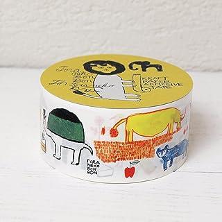 トラネコボンボン × 倉敷意匠計画室 クラフト粘着テープ (Africa)