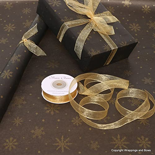 Black Christmas Wrapping Paper Amazon Co Uk